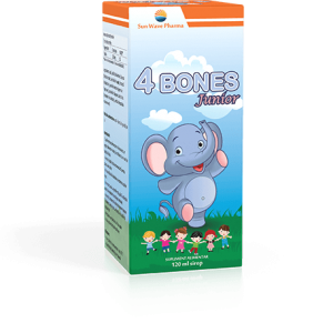 4 Bones Junior 120ml, Sun Wave
