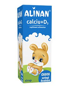 Alinan Calciu + Vitamina D3, Sirop, 150ml, FITERMAN