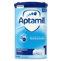 Lapte praf Aptamil 1, 800 g, 0-6 luni, NUTRICIA