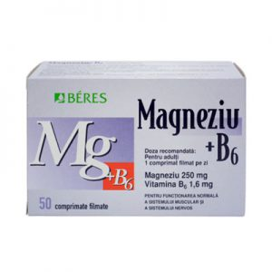 Beres Magneziu+b6 x 50 CP