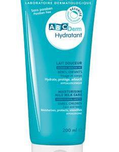 Lapte hidratant ABCDerm, 200ml, Bioderma