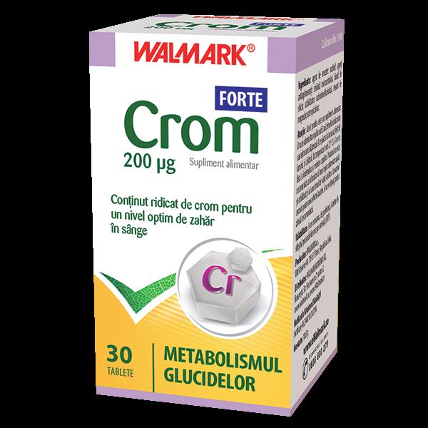 Crom Forte 200ug 30cpr x 30 COMPR