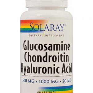 Glucosamine Chondroitin Hyaluronic Acid, 60cps, Secom