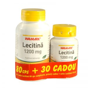 Lecitina 1200mg 80cps+lecitina 30cps x 110 CAPS