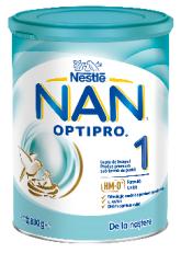 Formula de lapte praf Nestle Nan 1 Optipro 800 g, 0-6 luni