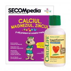 Calcium with Magnesium Liquid, Secom