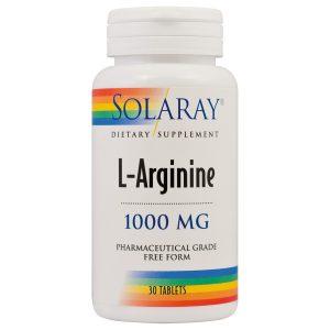 L-arginine, 30 cps, Secom