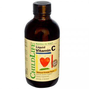 Vitamina C pentru copii, solutie, Secom