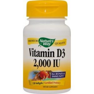 Vitamina D3 2000 Ui, 120 cps, Secom