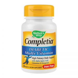 Completia Diabetic Multi-vitamin, Secom