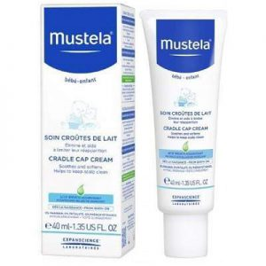 Mustela, Crema tratament impotriva scuamelor de lapte,40ml