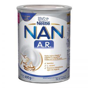 Formula de lapte praf NAN AR de la nastere, 400 g