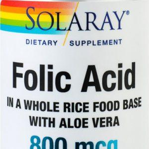 Acid Folic 800mcg X 30cps, SECOM