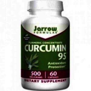 Curcumin 95 500 mg Jarrow Formulas, 60 capsule, Secom