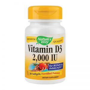 Vitamina D3 2000 Ui, 30 cps, Secom