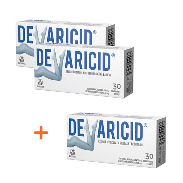 Devaricid, 30 comprimate, Biofarm