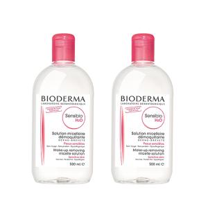 Bioderma Sensibio H2O  2 x 500ml