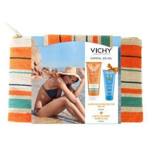 Vichy Pachet Lapte Spf 30 * 200ml + Lapte After Sun * 100ml