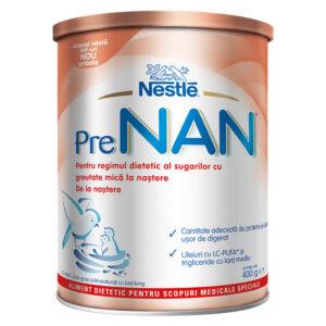 Formulă specială de lapte praf, PreNan, +0 luni, 400 g, Nestle