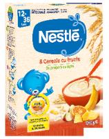Nestle 8 Cereale Cu Fructe * 250g