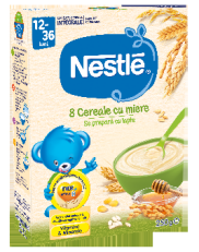 Nestle 8 Cereale Miere * 250g