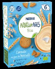 Nestle Naturnes Bio Cereale Gust Biscuit * 250g