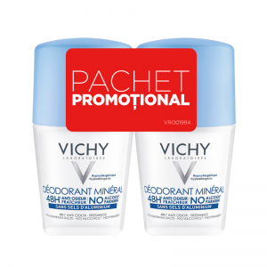 Vichy Deo Roll-on Mineral 48h * 50ml (1+1)