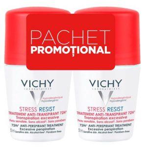 Vichy Deo Roll-on 72h Stress Resist * 50ml (1+1)