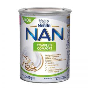 Lapte praf Nestle NAN Complete Comfort, 400g, de la nastere
