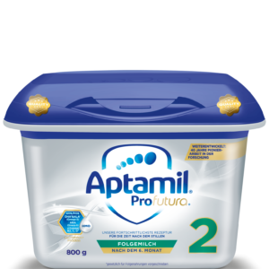 Formula de lapte de continuare Nutricia Premium Aptamil Profutura 2 cu Pronutra, 6 – 12 luni, 800 g