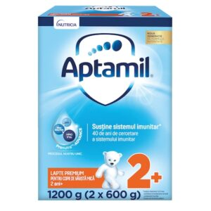 Lapte praf Aptamil Junior 2+, 1200 g, 24-36 luni