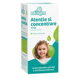 Alinan Atentie si Concentrare Sirop, 150ml, Fiterman