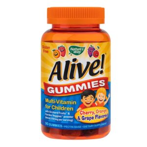 Alive Gummies Nature's Way, 90 jeleuri gumate, Secom