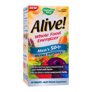 Alive Mens Ultra Potency Nature's Way, 30 tablete, Secom