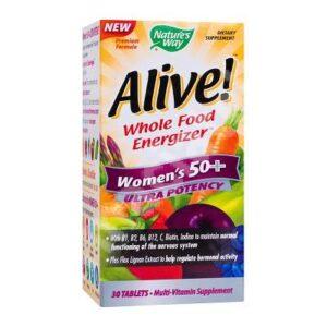 Alive Women 50+ Ultra Nature's Way, 30 tablete, Secom