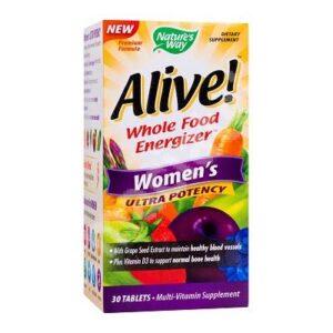 Alive Women Ultra Nature's Way, 30 tablete, Secom