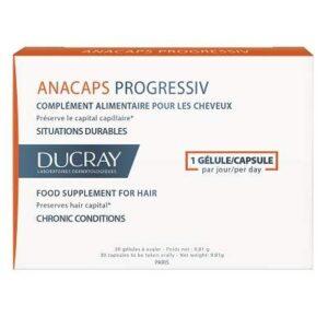 Anacaps Progressive, 30 capsule, Ducray
