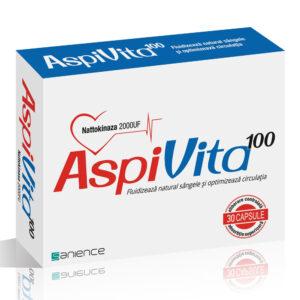 Aspivita – Pentru Mentinerea Sanatatii Cardiovasculare, 30 capsule, Sanience