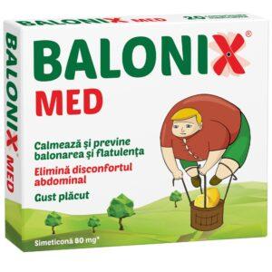 Balonix Med, 10 comprimate, Fiterman