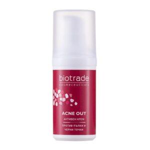 Acne Out Crema Activa, 30ml, Biotrade