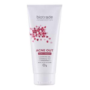 Acne Out Oxy Wash Gel, 200ml, Biotrade