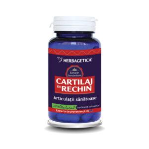 Cartilaj de Rechin, 60 capsule, Herbagetica