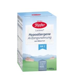 Formulă de lapte praf, hipoalergenic, +0 luni, Lactana HA1, 600g, Topfer