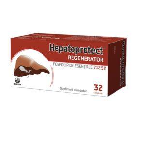 Hepatoprotect Regenerator, 32 capsule moi, Biofarm