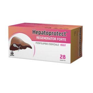 Hepatoprotect Regenerator Forte 850 mg, 28 capsule, Biofarm