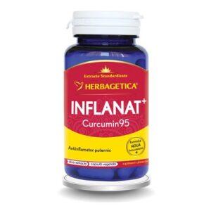 Inflanat Curcumin95, 60 capsule, Herbagetica
