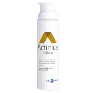 Actinica Lotiune pentru protectie solara cu SPF 50+, 80g, Galderma
