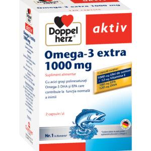 Omega 3 extra 1000 mg, 120 capsule, Doppelherz