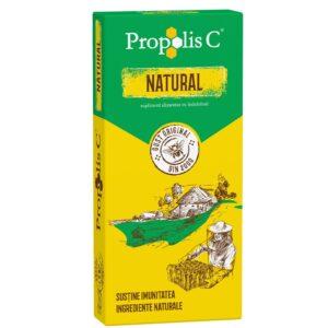 Propolis C Natural 100 mg, 30 comprimate, Fiterman