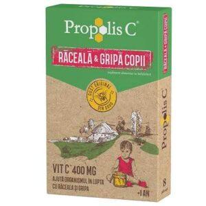 Propolis C Raceala Si Gripa Copii, 8 plicuri, Fiterman